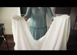 Enlace a Cómo doblar las sábanas sin ayuda