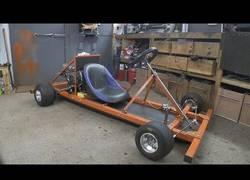 Enlace a Nuestro inventor favorito se hace un Kart fácilmente con materiales fáciles de conseguir