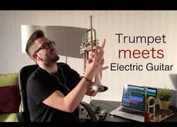 Enlace a Cuando una trompeta conoce una guitarra eléctrica