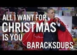 Enlace a Barack Obama nos canta el All I Want For Christmas is You antes de abandonar la Casa Blanca