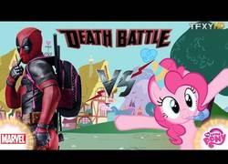 Enlace a Cuando Deadpool se enfrenta a un poni en una batalla a muerte