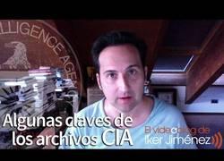 Enlace a Iker Jiménez nos habla de los 12 millones de archivos desclasificados de la CIA