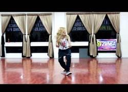 Enlace a Chachi Gonzales bailando una gran coreografía con 17 años