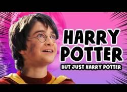 Enlace a Todas las peliculas de Harry Potter pero solo las palabras