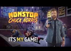 Enlace a Chuck Norris estrena juego de móvil que solamente él podrá pasarse