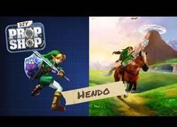 Enlace a Así te puedes fabricar fácilmente tu hada tal como la que acompaña a Link en su aventura