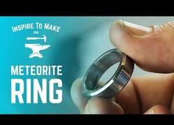 Enlace a Encuentran un meteorito y lo convierten en anillo