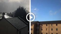 Enlace a Estos dos lugares son el mismo sitio de Escocia, a la misma hora y minuto