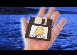 Enlace a Así funcionaría Snapchat en los años '90