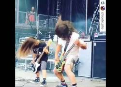 Enlace a El nuevo bajista de Korn tiene 12 años y es el hijo de Robert Trujillo