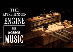 Enlace a The Apprehension Engine, el instrumento para crear sonidos de películas de terror