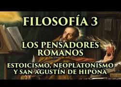 Enlace a Filosofía Romana y San Agustín de Hipona