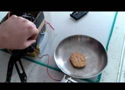Enlace a Experimento: cocinando con plasma