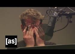 Enlace a La persona que pone la voz a Rick (Rick & Morty) se emborracha para ponerle voz al personaje