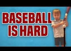 Enlace a Es muy complicado jugar a Beisbol