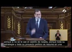 Enlace a A Rajoy se le colapsa el riego sanguíneo del cerebro en mitad del congreso