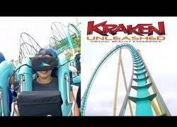 Enlace a La montaña rusa con realidad virtual que puedes encontrar en el SeaWorld de Orlando