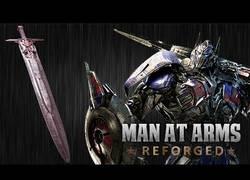Enlace a Creando la espada de Optimus Prime