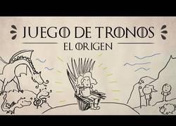 Enlace a Tienes que escuchar esta canción parodia del origen de Juego de Tronos
