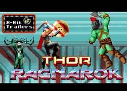 Enlace a Crean el tráiler de Thor Ragnarok con 8-Bit y es una auténtica pasada