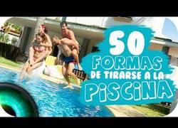 Enlace a 50 formas de saltar a la piscina