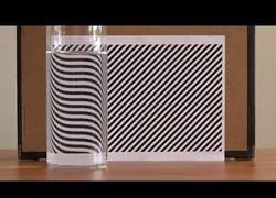 Enlace a El increíble efecto de estas líneas con el reflejo del agua
