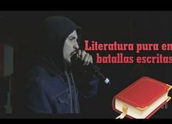 Enlace a Literatura y filosofia pura en batallas escritas de rap, te dejaran la piel de gallina