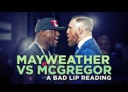 Enlace a Poniendo voz al careo entre Mayweather y McGregor