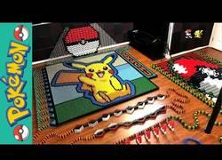 Enlace a Crean un espectacular efecto dominó de 22177 piezas con Pikachu de protagonista