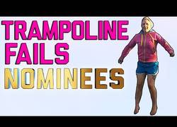 Enlace a Los nominados a mejores fails pegándose tortazos en camas elásticas
