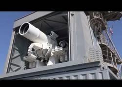 Enlace a El potentísimo láser llamado LaWS creado por Estados Unidos con una potencia tremenda