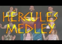 Enlace a ¡8 concursantes de Tu Cara No Me Suena Todavía graban un genial Medley de Hércules!