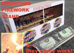 Enlace a Se fabrica sus propios fuegos artificiales en miniatura y funcionan a la perfección