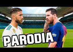 Enlace a Resume el Real Madrid-Barcelona de Miami con una canción parodia del hit