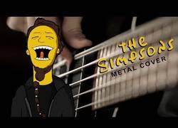 Enlace a Versionan la canción de Los Simpson en 'metal' y el resultado es una maravilla