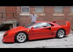 Enlace a El motivo por el que el Ferrari F40 cuesta 1.2 millones de dólares