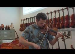 Enlace a Despacito de Luis Fonsi en un violín de 1.2 millones de dólares