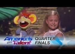 Enlace a Darci Lynne, la niña ventrílocua que lo peta en America's Got Talent, le dedica una canción a Mel B