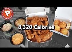 Enlace a Se mete entre pecho y espalda 8256 calorias sin pestañear y tú engordas sólo con respirar