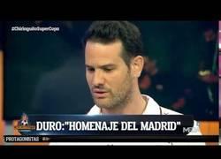 Enlace a Quim Doménech de El Chiringuito se rinde ante la superioridad del Real Madrid
