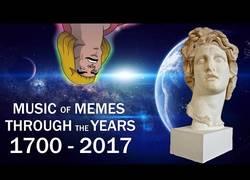 Enlace a Historia de la música desde el siglo XIII hasta hoy a través de las canciones usadas para los memes