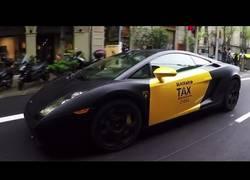Enlace a La reacción ante un taxi Lamborghini