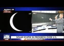 Enlace a La increíble forma con la que se vivió el eclipse solar en las TV