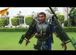 Enlace a Este indio ha creado su propio traje de Iron Man y el resultado es... inquietante