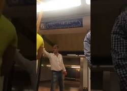Enlace a Ya ha sido detenido este salvaje que atacó de forma racista en el Metro de Madrid