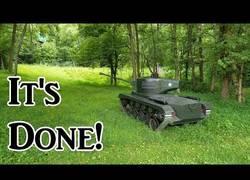Enlace a Fabrica tu propio tanque de guerra en casa