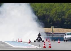 Enlace a Moto impulsada por agua a presión pasa de 0-100 km/h en 0'55 segundos