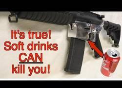 Enlace a Reciclaje extremo: arma a partir de latas