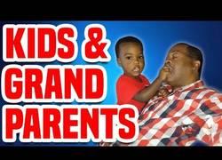 Enlace a La mejor recopilación de abuelos y sus nietos
