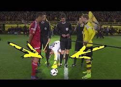 Enlace a El portero del Borussia Dortmund tiene una peculiar manía antes de cada partido